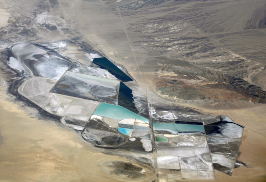 Chemetall Foote Lithium Operation in Clayton Valley, Nevada (Photo by David Doc Searls)