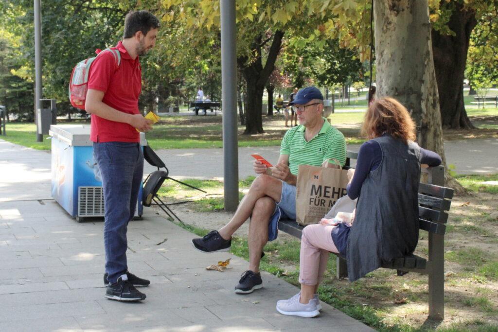 Solidarnost u razgovoru sa građanima Beograda