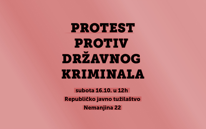 Protest protiv državnog kriminala